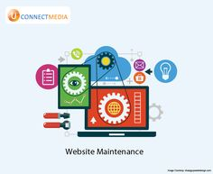 Let us take care of your website..  #Website_Maintenance  #U_Connect_Media