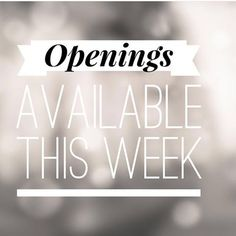 , We have appointments available this week our new senior stylist Louise Knox will. , We have appointments available this week our new senior stylist Louise Knox will be in salon this Thursday-Friday-Saturday. With off all colours. Massage Business, Salon Business, Hair Salon Quotes, Lash Quotes, Spa Quotes, Beauty Quotes, Massage Marketing, Hairstylist Quotes, Hairdresser Quotes
