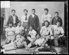 Carlisle Industrial Baseball. School produced solid athletes, but its intent was assimilation.