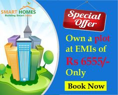 Special Offer !!! Own a #Plot at EMIs of Only Rs.6555/- in #Dholera Smart City, #Gujarat. http://bit.ly/1VLXkS8