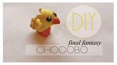 Final Fantasy Chocobo Tutorial [Polymer Clay]