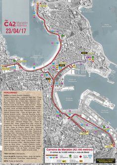 Este 23 de abril toca correr na a Aquí tes o percorrido! Map, Cities, Sports, Location Map, Maps