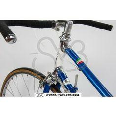 Garlatti Classic Lady Racing Bike Frame & Fork - Garlatti Front Derailleur - Campagnolo Nuovo Valentino Rear Derailleur - Campagnolo Nuovo Valentino Crankset - Ofmega Bottom Bracket - Ofmega Stem - 3ttt Touriste Stem Bar - 3ttt Shifters - Campagnolo Brakes - Dia Compe Brake Levers - Dia Compe Rims - 700C tubular or clincher rims (please choose the type) Tires - tubular or clincher tires (please choose the type) Chain - NOS chain Handlebar Tape - NOS cork ribbon