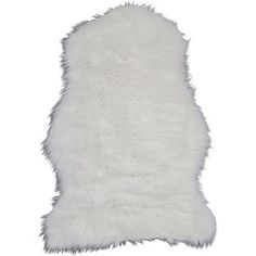 Buy Faux Sheepskin Rug - 90 x 60cm - Natural at Argos.co.uk, visit Argos.co.uk to shop online for Rugs and mats