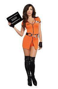 Locked Up Cutie Adult Womens Costume - 322275   trendyhalloween.com #halloweencostumes #womenscostumes #sexycostumes