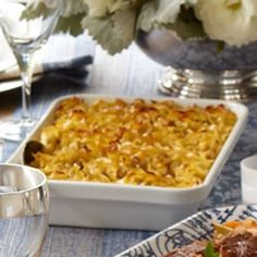 Noodle Kugel | Williams-Sonoma { from Ina Garten - what's not to love }