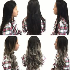 TRANSFORMATION: Stand Out Gray Ombre | Modern Salon