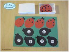 1 to 10 ladybug