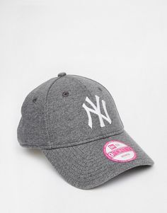 2ec13d8c5b298 New Era - 9Forty - Casquette New York Yankees en jersey - Gris