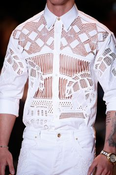 Details of Versace Spring/Summer 2015 Collection