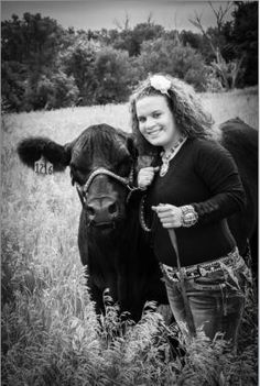 Show steer senior photo.