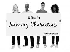When writing an essay, how would you write a movie characters name?
