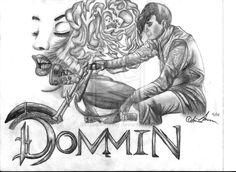 Dommin CD Insert Pencil Art