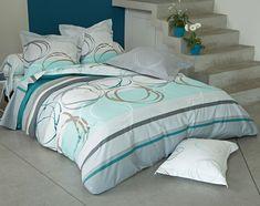 Linge de lit motif spirales - BECQUET CRÉATION