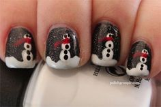 Cool Winter Nail Art Designs & Ideas For Girls 2013/2014