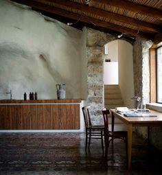 Cucina + cementine+ incanniciato a Modica (arch. Viviana Haddad)