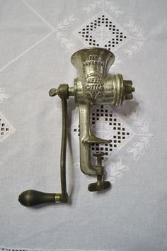 Vintage E C Simmons Keen Kutter Meat Grinder Food by PanchosPorch
