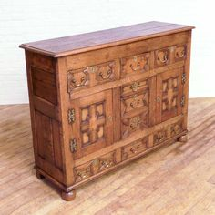 Antique Jacobean Style Oak Dresser - http://witchantiques.com/antique-jacobean-oak-dresser.html