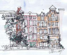 Amsterdam Sketches, Michelle Morelan