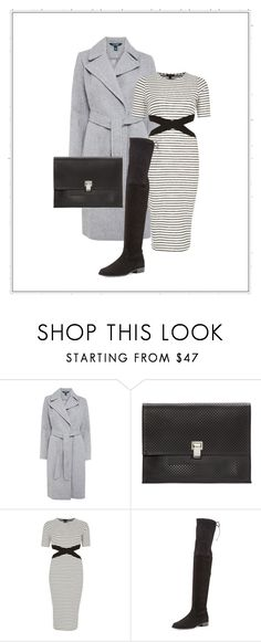 """50 shades of grey"" by marijkeverhaegen on Polyvore featuring Lauren Ralph Lauren, Proenza Schouler, River Island and Stuart Weitzman"