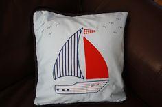 Children's nautical cushion