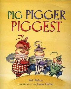 Pig, Pigger, Piggest, Teach with Picture Books: Make Language an Adventure: Learning Grammar with Picture Books Teaching Grammar, Teaching Language Arts, Teaching Reading, Speech And Language, Teaching Ideas, Learning, Grammar Skills, Teaching Resources, Grammar Practice