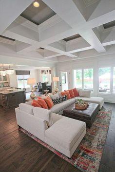Gorgeous 40 Comfy Living Room Decoration Ideas https://bellezaroom.com/2017/12/13/40-comfy-living-room-decoration-ideas/