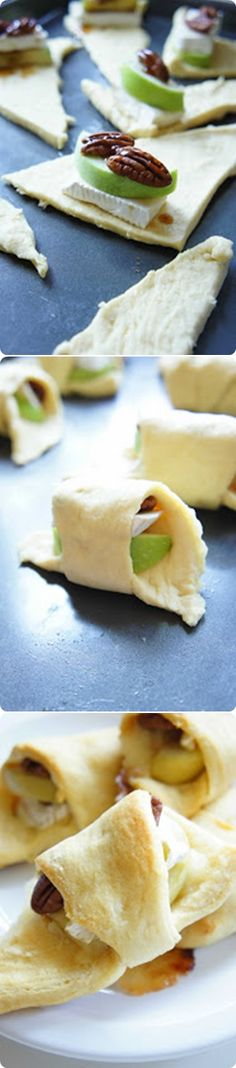 Brie and Apple Crescent Rolls, try replacing the apple with a strawberry