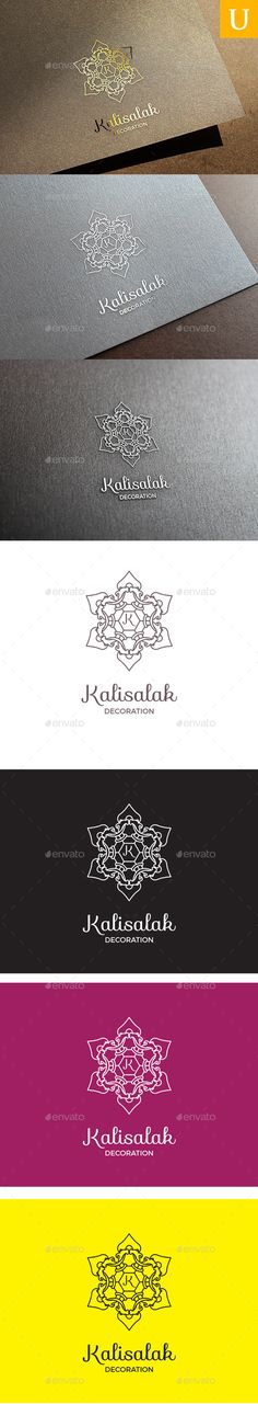 Kalisalak Logo — Vector EPS #hotels #boutique • Available here → https://graphicriver.net/item/kalisalak-logo/10641167?ref=pxcr