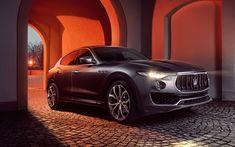 Download wallpapers Maserati Levante, 4k, street, 2017 cars, Novitec, tuning, luxury cars, Levante, Maserati