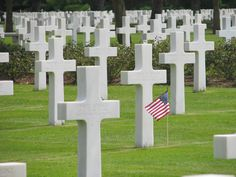 #15 went here in high school... American Cemetery in Normandy... 50 of the most important landmarks of the world