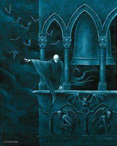 """Belfry Haunt"" by Joseph Vargo. (josephvargo.com)"