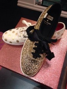 Favorite Things: Kate Spade Sparkle Shoes! - Vivid & Brave