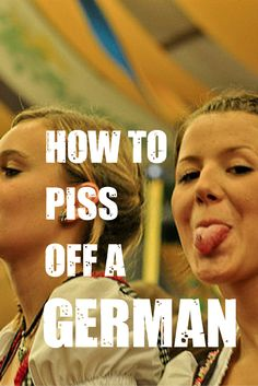 Want to annoy a German? Here are 7 ways you can piss them off. And yes, being ignorant at the the state of East Germany is definitely one of them. Find out the other Cities In Germany, Visit Germany, Germany Travel, Best Places To Travel, Cool Places To Visit, German Festival, Holidays Germany, Travel Goals, Travel Tips