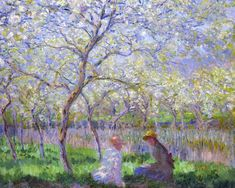 Claude Monet, Le Printemps, 1886
