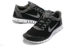 54a47495f556 Nike Free 3.0 V2 Suede Mens Black Grey  Grey  Womens  Sneakers