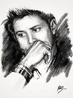 Don't usually post fan art, but I really feel like this captures Dean/Jensen so well I really just have to.