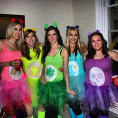 Pin for Later: Ghouls Gone Wild! 60 Creative Girlfriend Group Costumes Care Bears