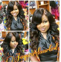 Sew In Wig, Braid Patterns, Long Wigs, Love Hair, Fashion Sewing, Lace Closure, Brazilian Hair, Hair And Nails, Black Hair