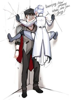 Winter and Qrow by foglight on DeviantArt