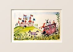 Prints Pinocchio Pinocchio in Toyland - Pantani Arte San Gimignano Tuscany