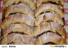 Helenské rohlíky recept - TopRecepty.cz Nutella, French Toast, Pork, Bread, Breakfast, Ds, Basket, Lemon, Kale Stir Fry