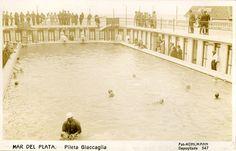 Pileta Gianccaglia. Año 1920