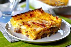 Le Lasagne alla zucca, un primo piatto facile, goloso e di stagione! Prova la ricetta e scoprirai la bontà di questo piatto.