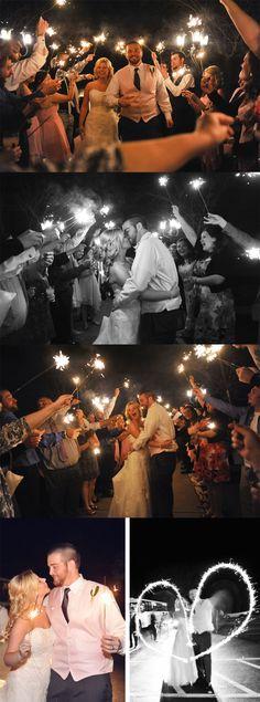 Some of my favorites from Kait & Dan's April Wedding! Sparkler send off :)