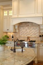 tile for countertops in kitchen 1000 images about kitchens on travertine 8486
