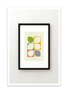 ARRAY v57 - Giclee Print - Contemporary Modern Eames Retro Abstract 70s. $24.00, via Etsy.