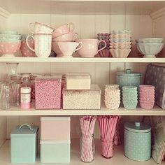Pastelowe kuchenne dodatki / Pastel Kitchen accessories