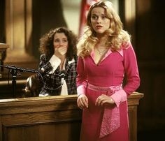 """Legally Blonde,"" 2001, Robert Luketic. Elle Woods bringin' it home!"