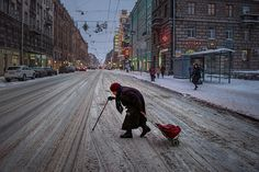 When I asked Alexander Petrosyan to tell me why St. Petersburg is a great place for street photography, he answered honestly. It isn't. It's usually freezing, and the streets are never well-lit. The streets are mostly empty because everyone is always in a hurry to get someplace. He takes pictures here not because it's easy …
